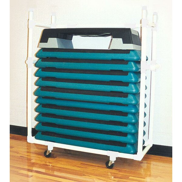 Health Club Step Utility Cart by Duracart