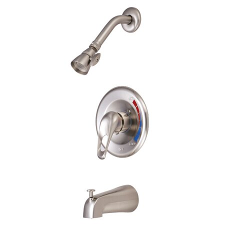 Chatham Single Handle Tub and Shower Faucet by Kingston Brass Kingston Brass