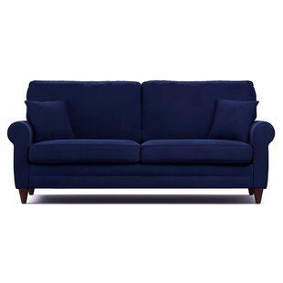navy blue leather couch wayfair rh wayfair com navy blue leather sofa bed navy blue leather sofa sets