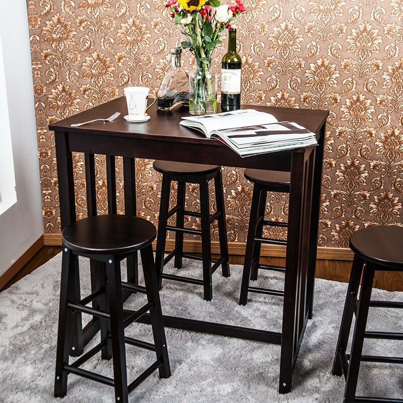 Merax 5 Piece Pub Table Set Reviews