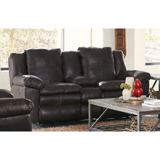 Aria Leather Reclining Loveseat by Catnapper SKU:CD197008 Information