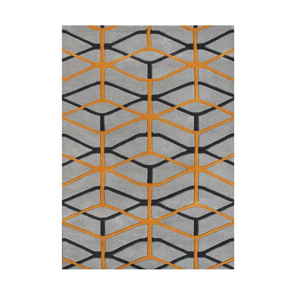 Hand-Tufted Flint Gray Area Rug by The Conestoga Trading Co.