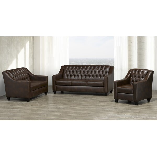 Debolt 3 Piece Living Room Set by Darby Home Co