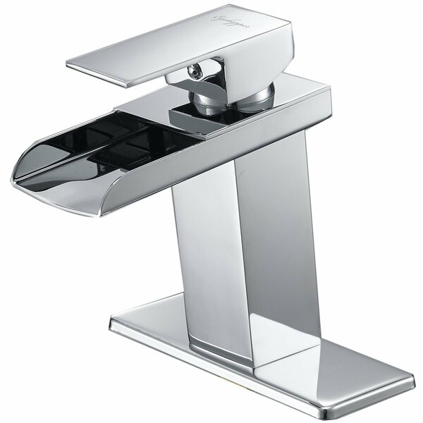DFI Waterfall Single Hole Bathroom Faucet by Aquafaucet