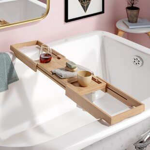 Eshleman Bamboo Bathtub Caddy
