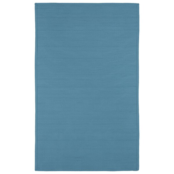 Malounta Teal Indoor/Outdoor Area Rug by Bay Isle Home