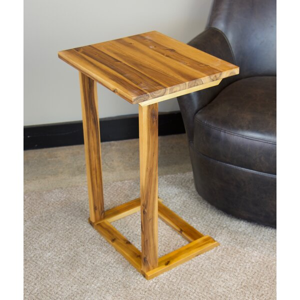 Kabamba Solid Wood C End Table By Ebern Designs
