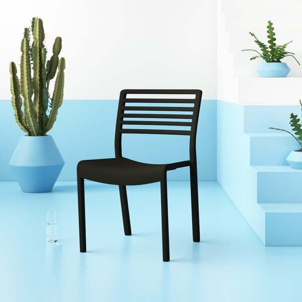 Onfleek Stacking Patio Dining Chair by Hashtag Home