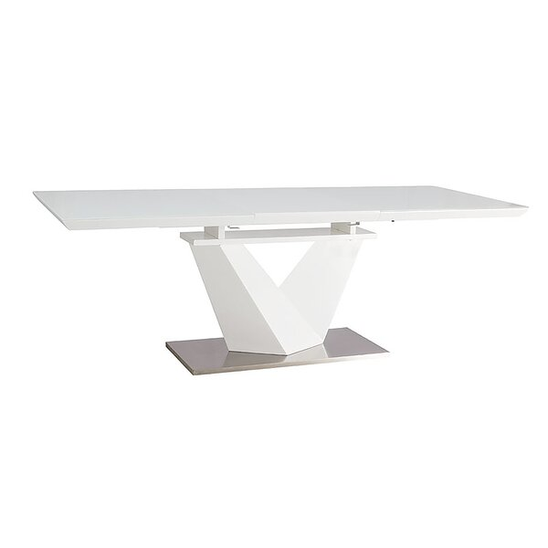 Azu Extendable Dining Table by Orren Ellis