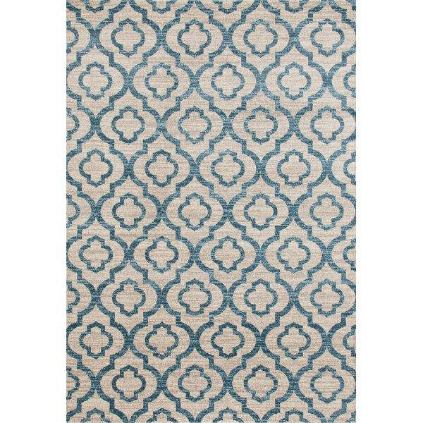 Elite Soft Blue Area Rug by World Rug Gallery