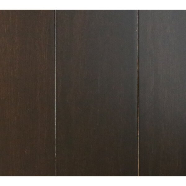 3-5/8 Solid Bamboo  Flooring in Ebony by Islander