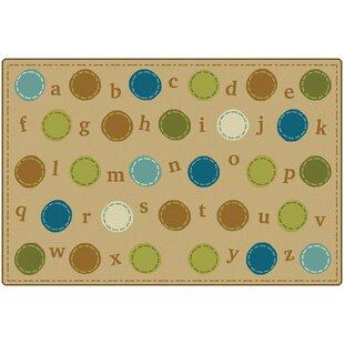 KIDSoft™ Alphabet Dots Playmat ByCarpets for Kids Premium Collection