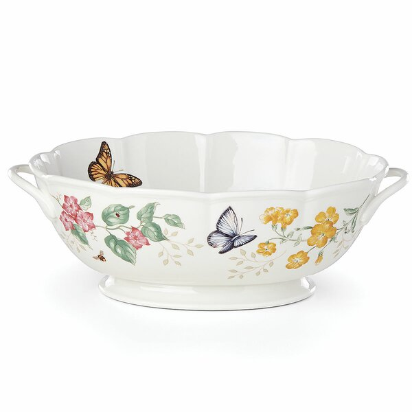 Butterfly Meadow Serving Bowl by Lenox