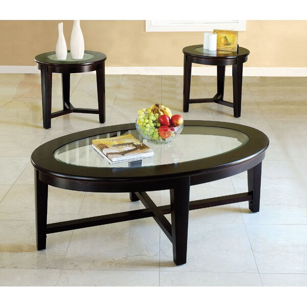 Shedd 3 Piece Coffee Table Set by Red Barrel Studio Red Barrel Studio®