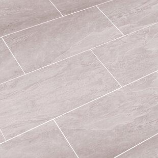 Luxury Thinline 12 X 24 Porcelain Field Tile In Oyster Gray