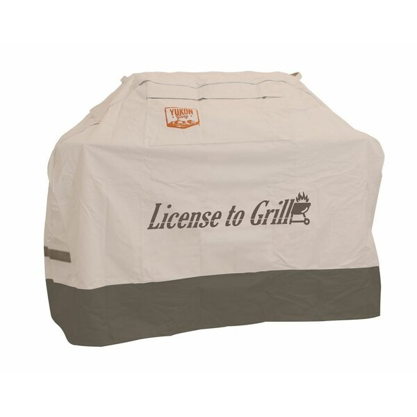 Medium Universal License to Grill Cover by Yukon Glory