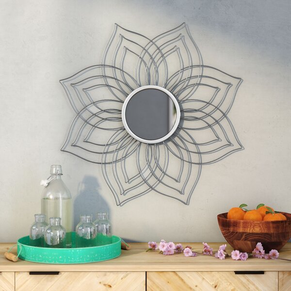 Gilroy Accent Mirror by Bungalow Rose