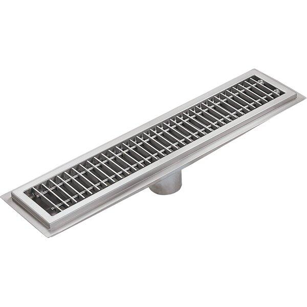 Floor Water Receptacle 4 Grid Shower Drain by IMC Teddy