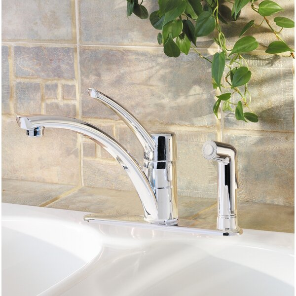 Parisa Single Handle Kitchen Faucet with Side Spray
