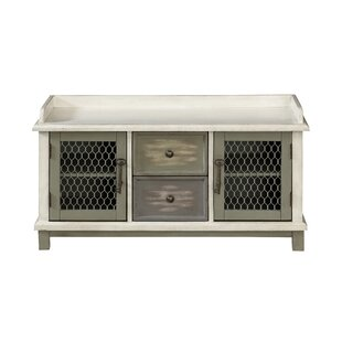 Burritt 2 Drawer Accent Cabinet