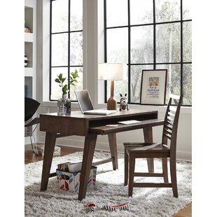 Schuster Solid Wood Writing Desk by Brayden Studio Fresh