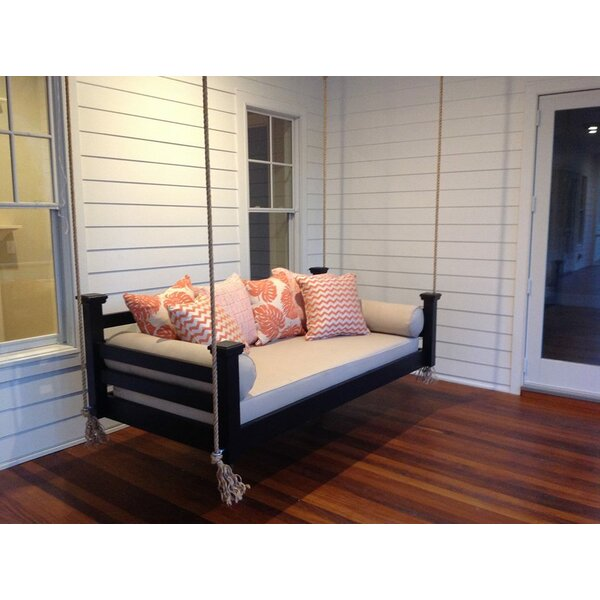 Adonis Elegant Charleston Porch Swing by Rosecliff Heights Rosecliff Heights