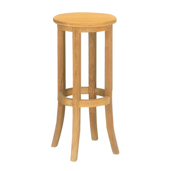 Delreal Teak 31.5 Patio Bar Stool by Darby Home Co