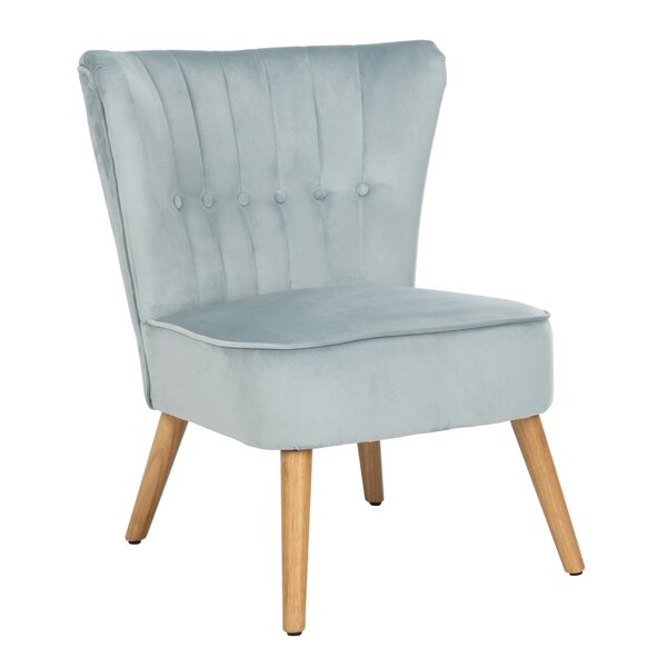 Velveteen Side Chair By George Oliver