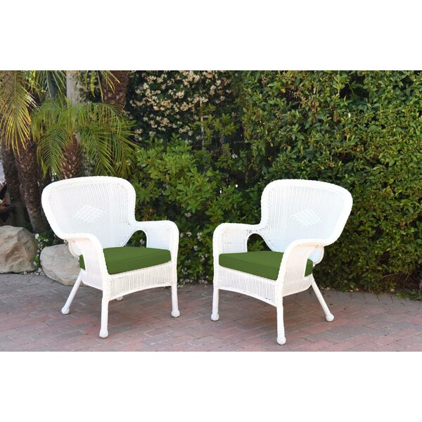 Damarion Arm Chair with Cushions (Set of 2) by Mistana