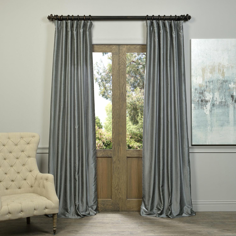 Astoria Grand Sagunto Synthetic Room Darkening Thermal Rod Pocket Single Curtain Panel Reviews Wayfair