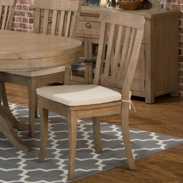 Ziegler Solid Wood Dining Chair (Set of 2) by August Grove
