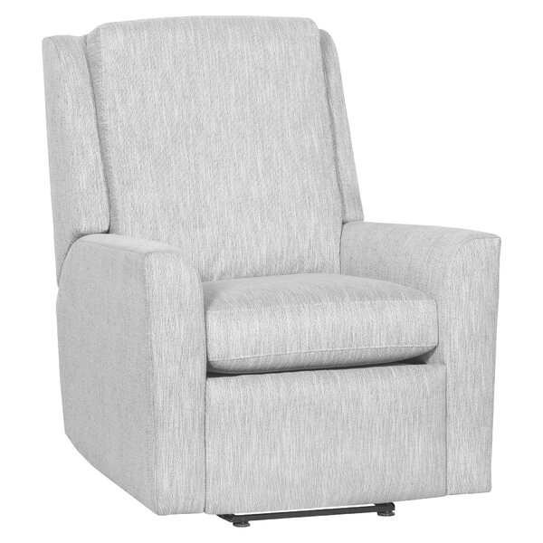 Hickory Leather Manual Recliner by Fairfield Chair Fairfield Chair