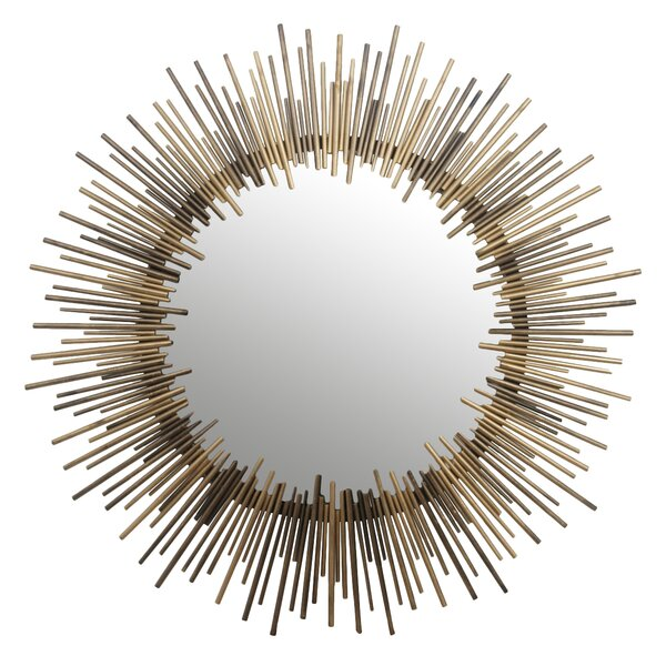 Round Iron Wall Mirror by Privilege