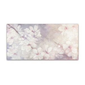 'Cherry Blossoms' Print on Wrapped Canvas by Trademark Fine Art