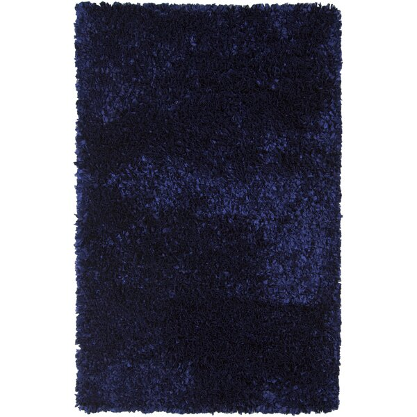 Banner Wool Blue Area Rug by Harriet Bee