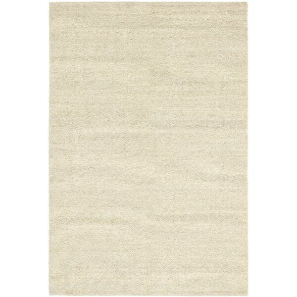 One-of-a-Kind Cullum Hand-Knotted Wool Beige Indoor Area Rug by Isabelline