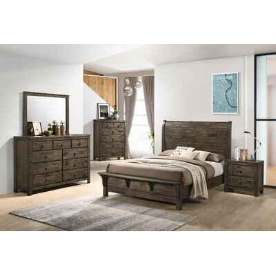 Union Rustic Shockley Sleigh Standard 5 Piece Bedroom Set Union Rustic Bed Size Queen From Wayfair North America Daily Mail