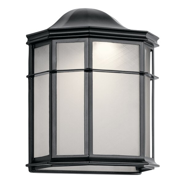 Heiss LED Outdoor Flush Mount by Bloomsbury Market
