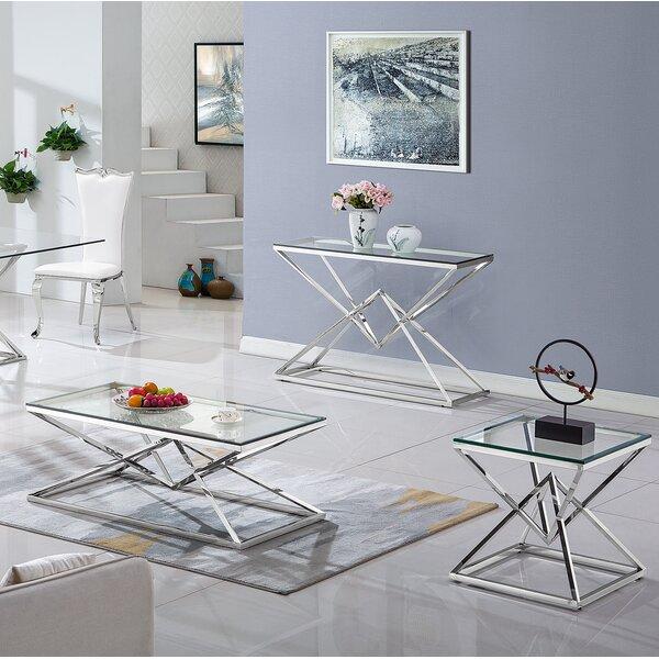 Gytha 3 Piece Coffee Table Set By Orren Ellis