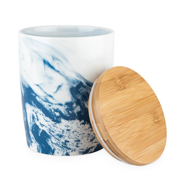 Marbled Kitchen Canister By Twine Herry Up
