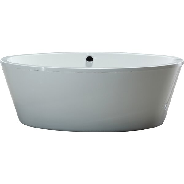 Marilyn 67 x 43 Soaking Bathtub by Ove Decors