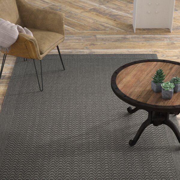 Ximena Gray Area Rug by 17 Stories