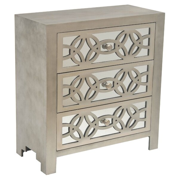 Tasha 3 Drawer Chest by Safavieh