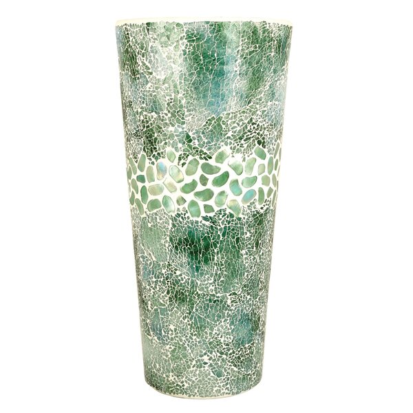 Laurel Hill Deep Green Table Vase by Bay Isle Home