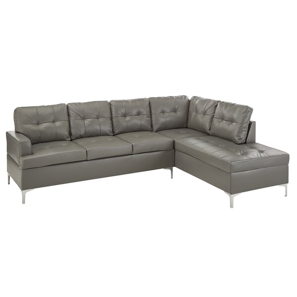 Braunste Right Hand Facing Sectional by Wade Logan