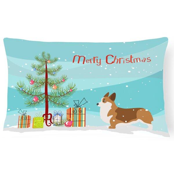 Corgi Indoor/Outdoor Lumbar Pillow by The Holiday Aisle