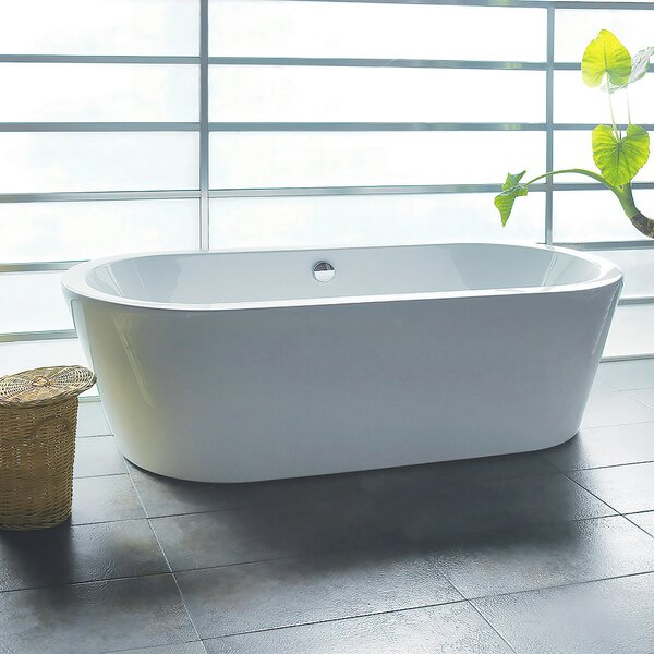70.87 x 31.5 Soaking Bathtub by AKDY