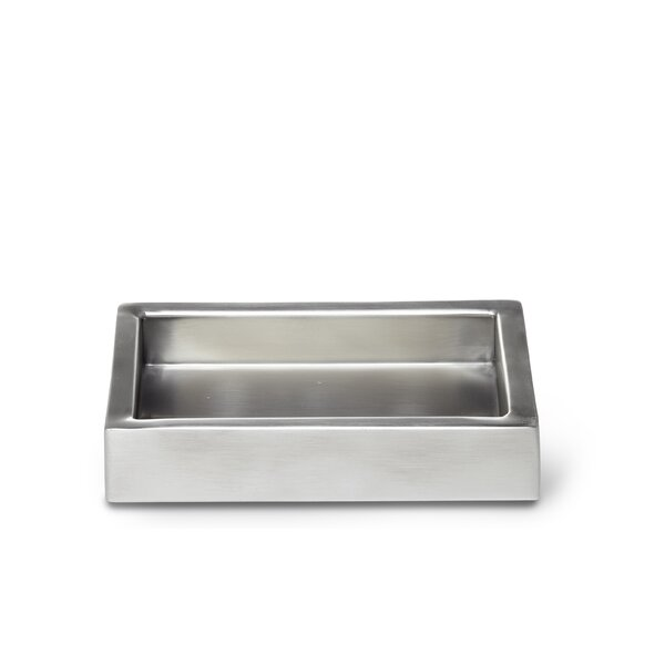 Modern Satin Soap Dish by Roselli Trading Company