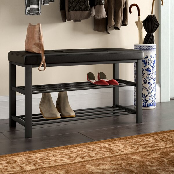 Kolten Entryway Upholstered Shoe Storage Bench By Winston Porter