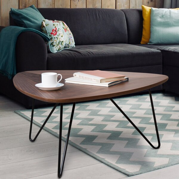 Friend Coffee Table with Tray Top by Union Rustic